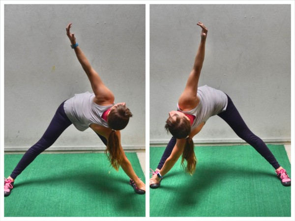 spinal rotational stretch