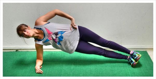 basic forearm side plank