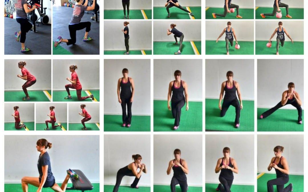 Lunge For Stronger Legs And Glutes – Functional Lunge Variations
