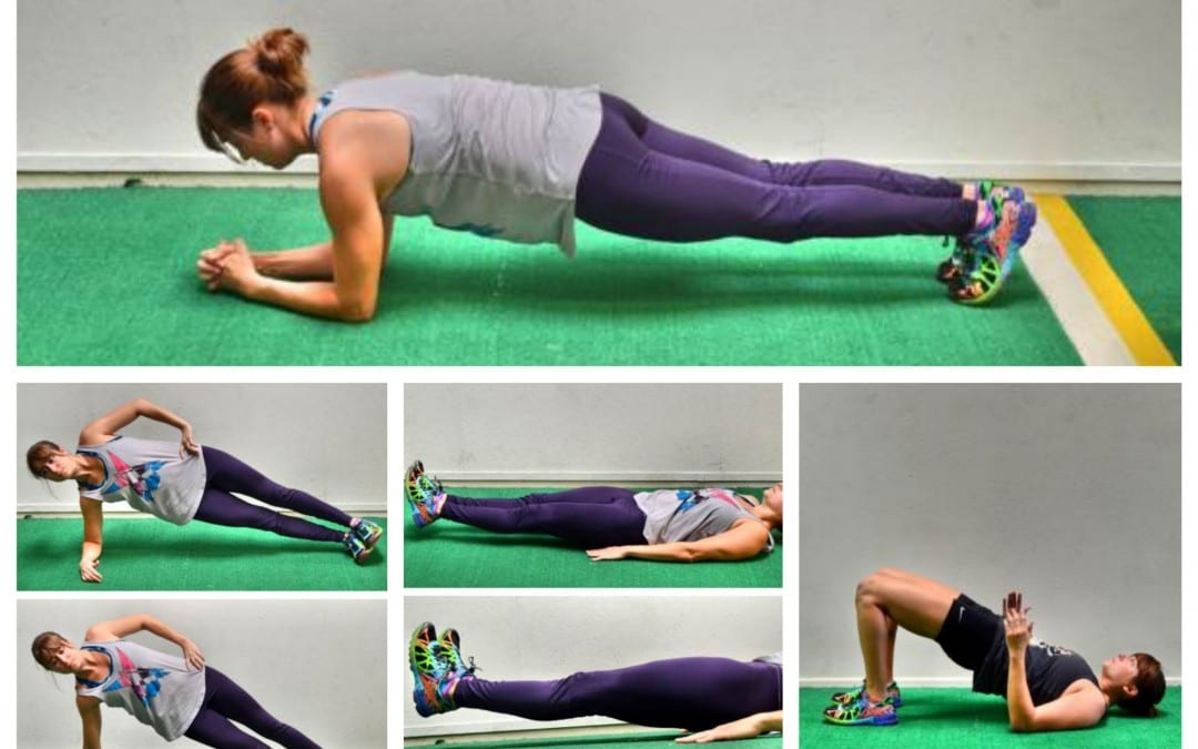 Perfecting The Plank and a Core Burn Out Workout