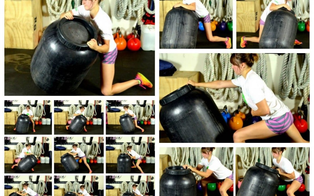 Functional Fitness – Barrel Training