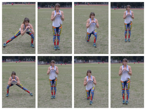 square lunges