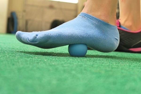 foot rolling