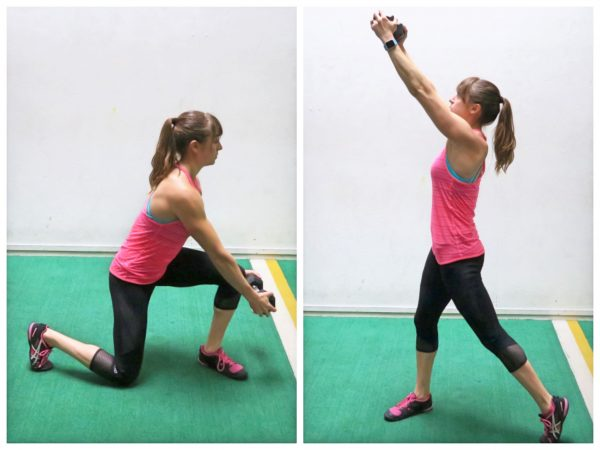 standing ab exercise