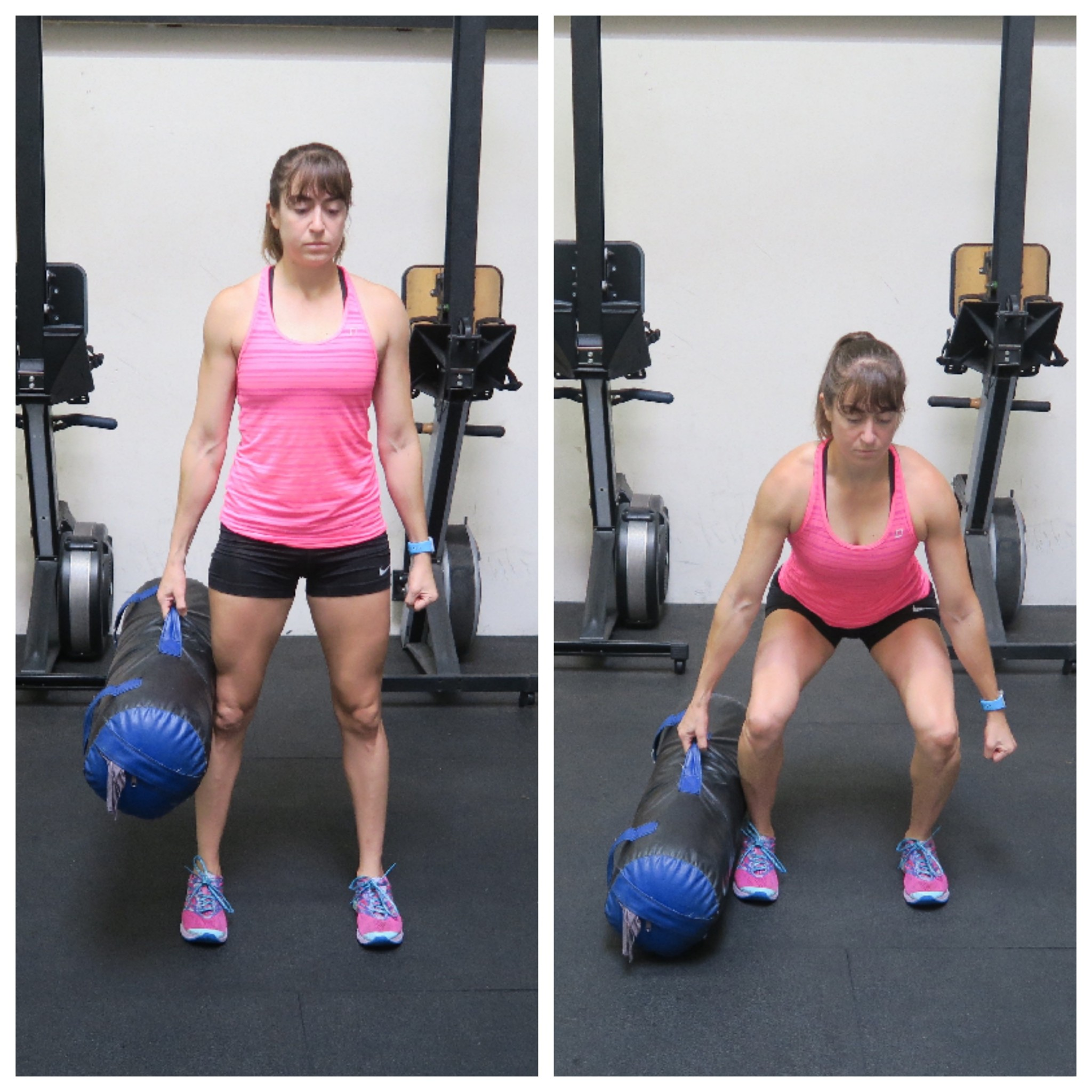 How to deadlift properly and the right variation for you to unilaterally load down any variation you can simply hold a kettlebell sandbag or dumbbell in one hand for the single leg deadlift you can hold it in falaconquin