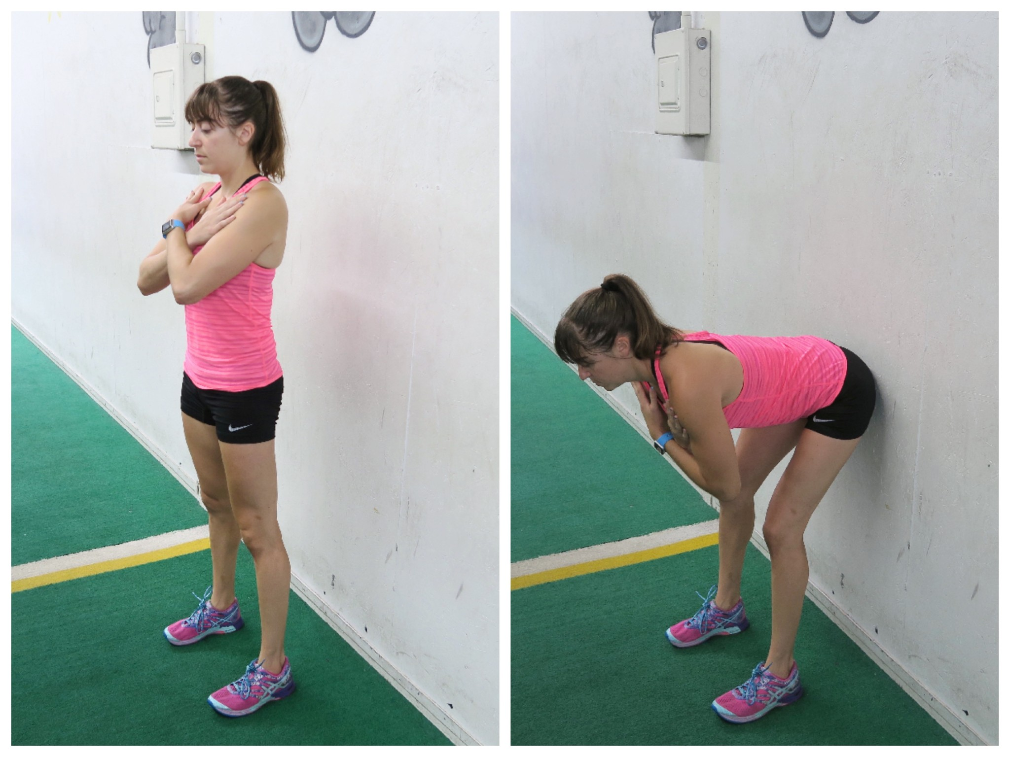 How to deadlift properly and the right variation for you to do the bodyweight wall hinge stand in front of a wall facing away you want to stand between 3 6 inches away from the wall so as you hinge over falaconquin