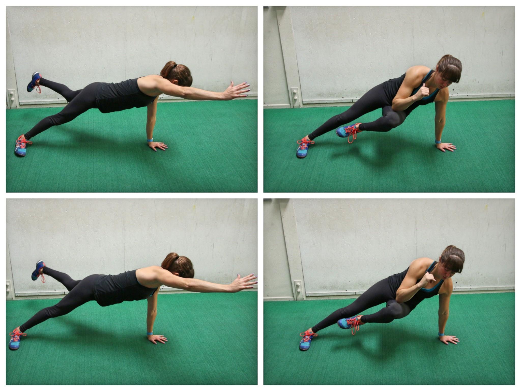 rotational plank