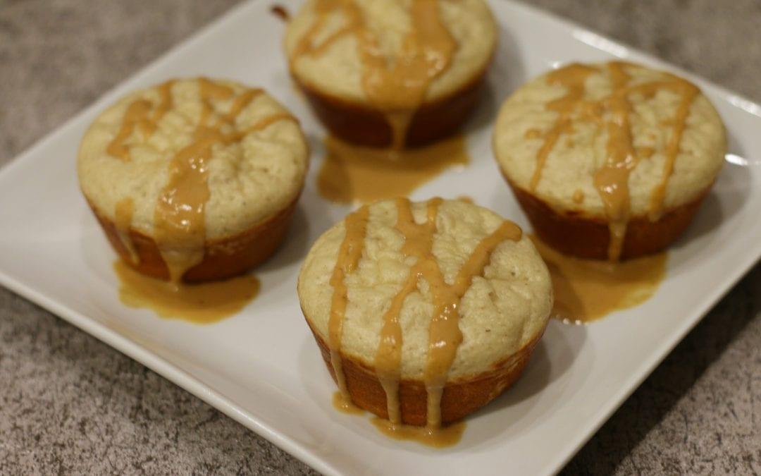 Quick Peanut Butter Protein Muffins