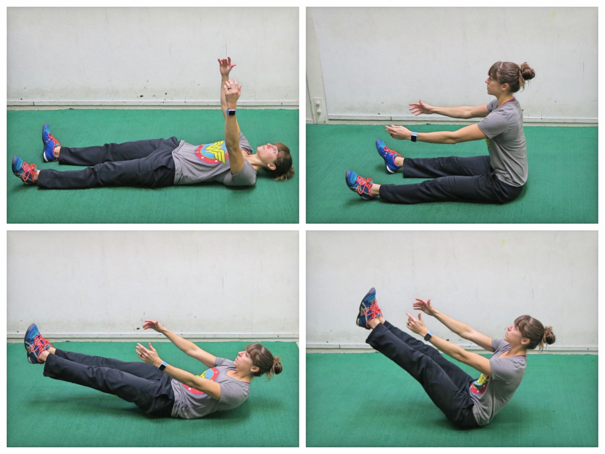 4 Bodyweight Ab Burner Exercises