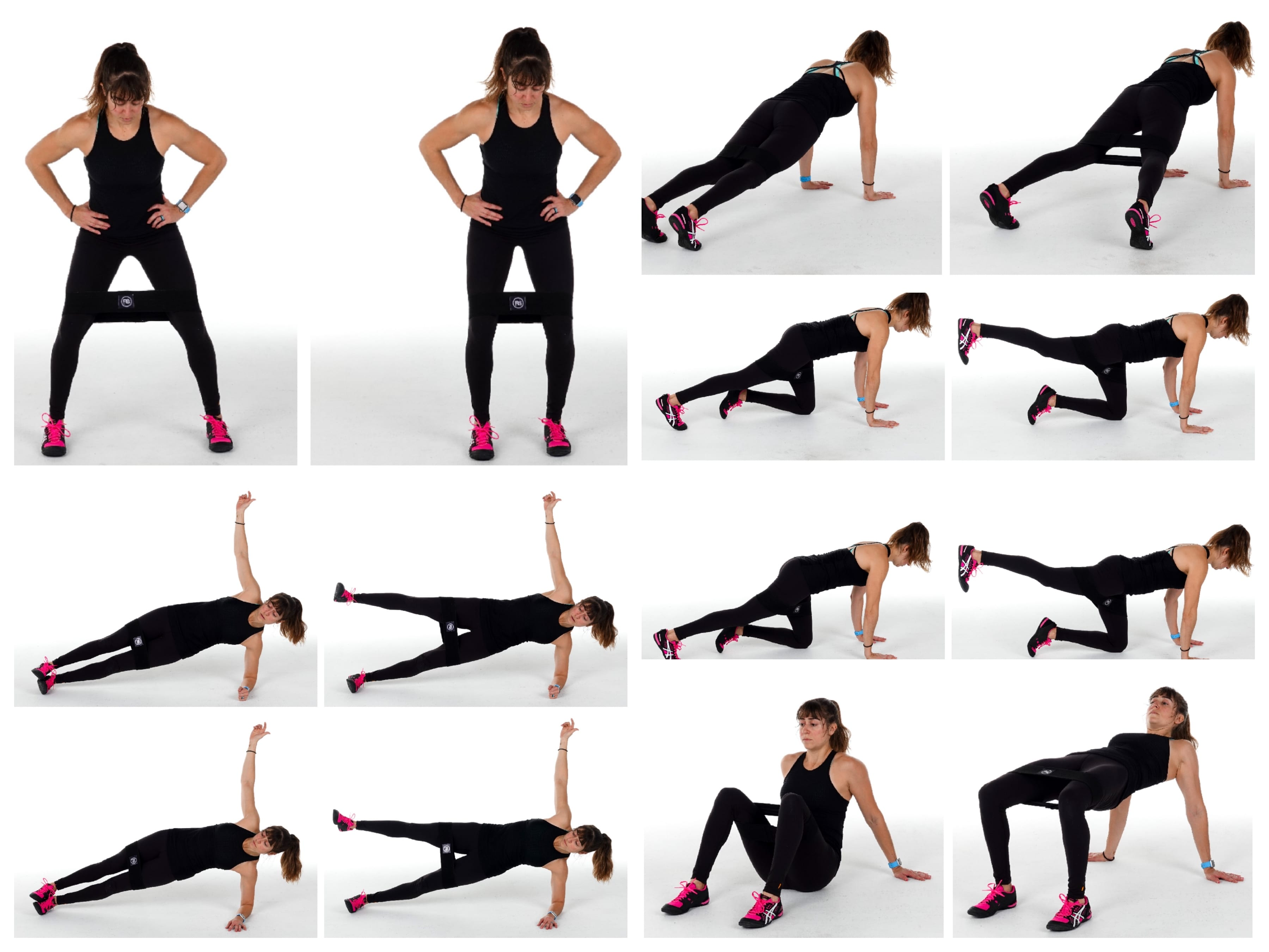 10 Booty Band Moves To Activate Your Glutes