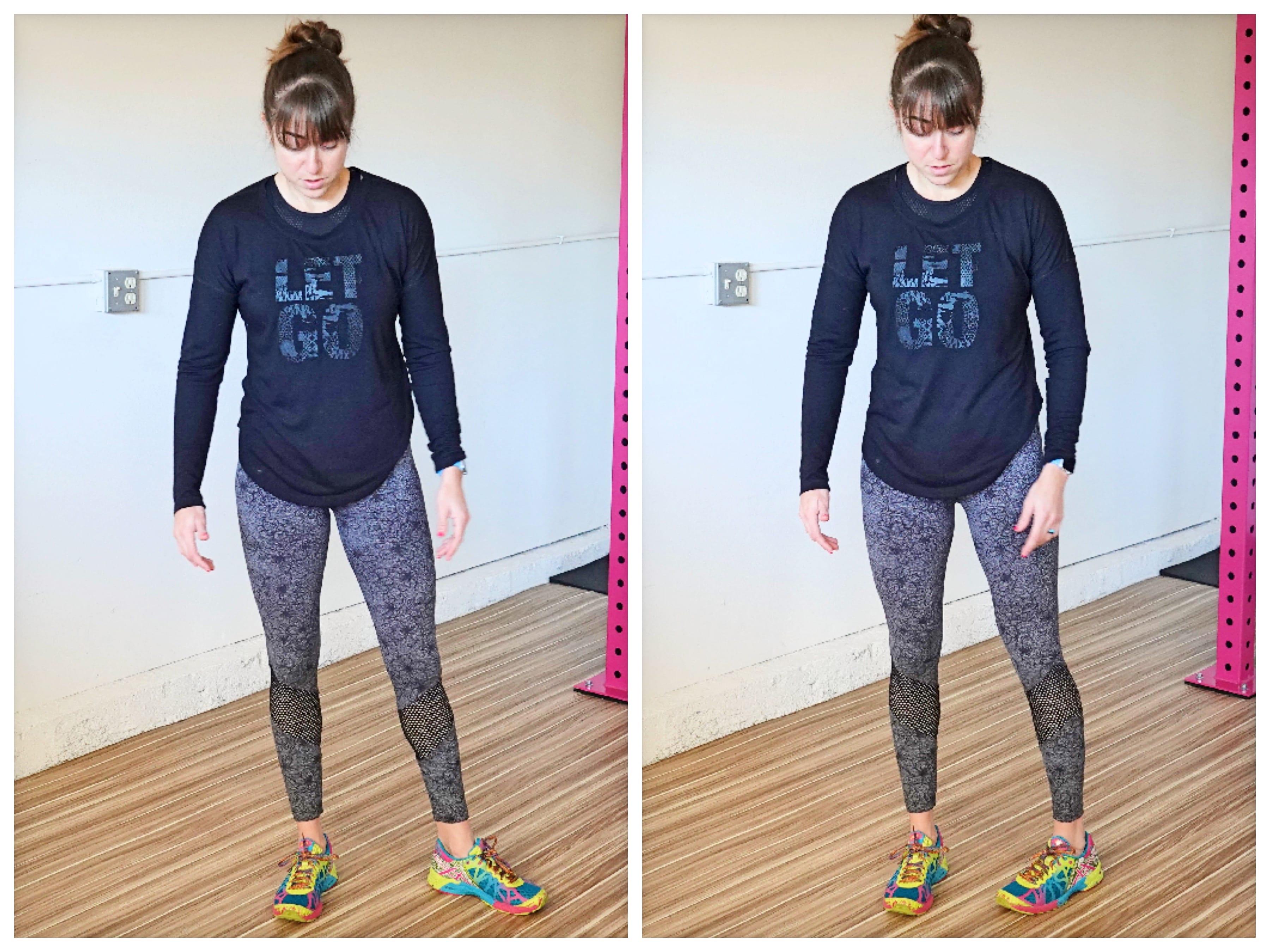 external vs internal hip rotation