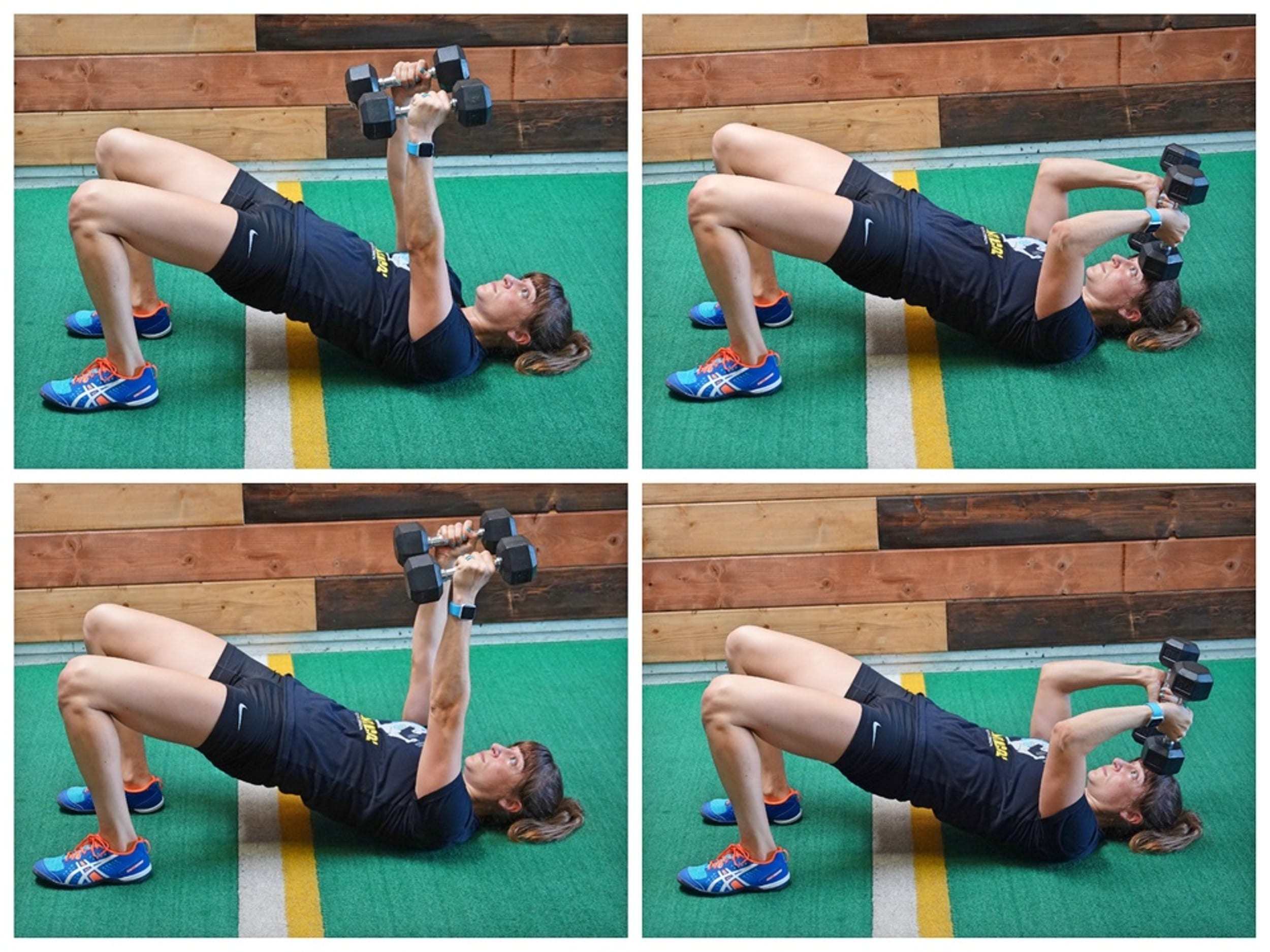 skull crusher tricep exercise