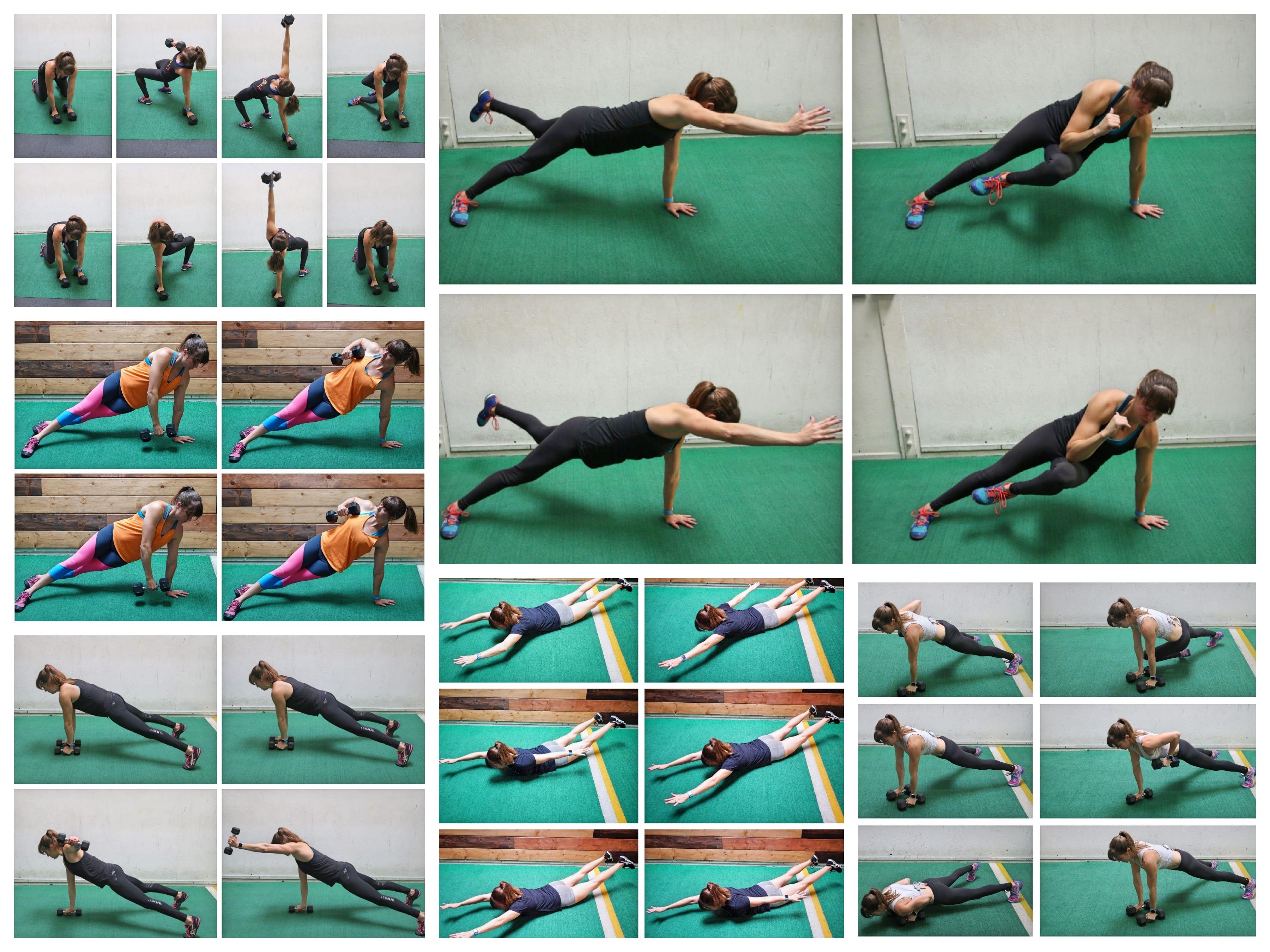 12 Hybrid Upper Body Moves To Build Killer Upper Body And Core Strength