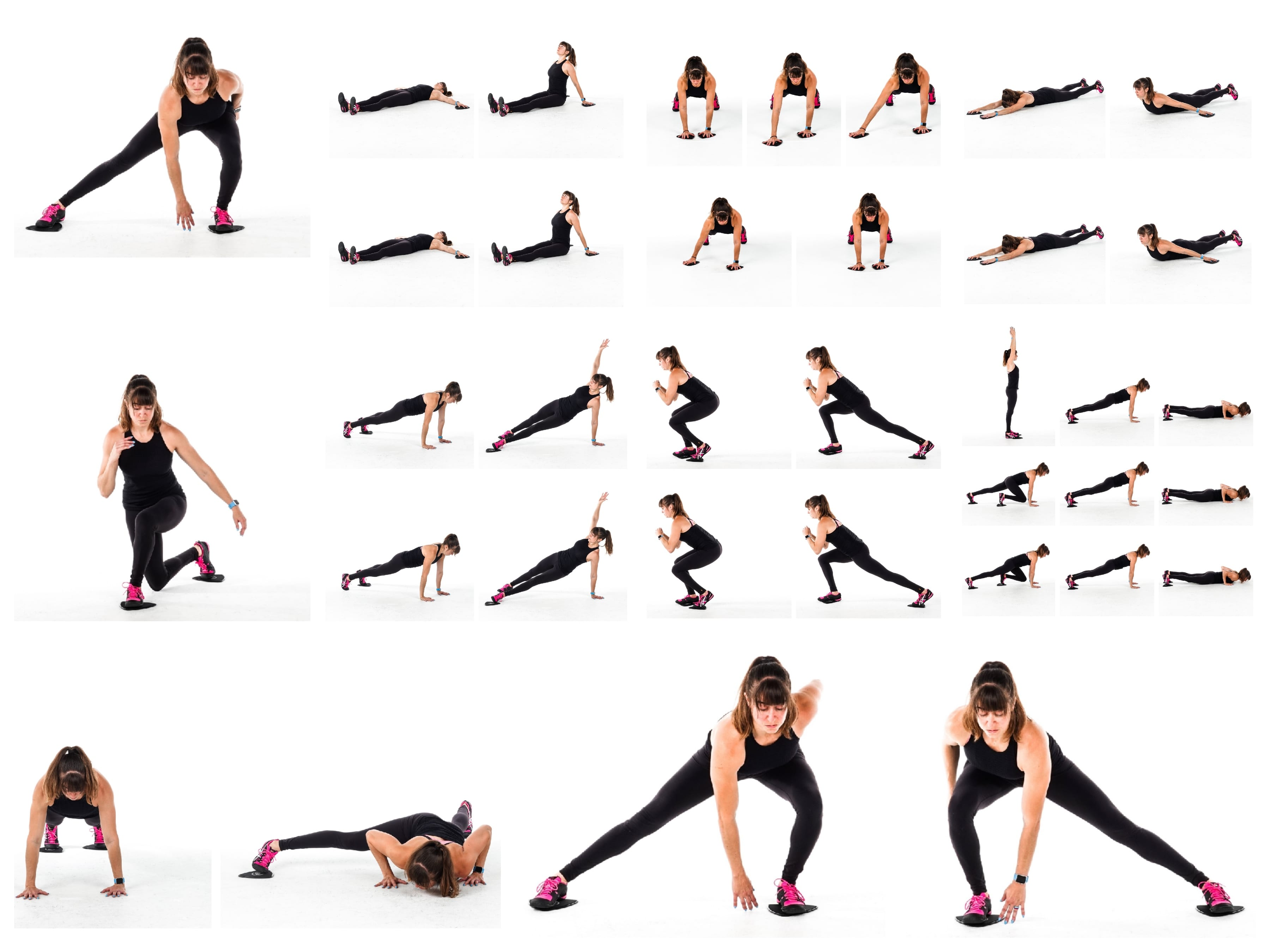 12 Slider Exercises For A Full-Body Workout