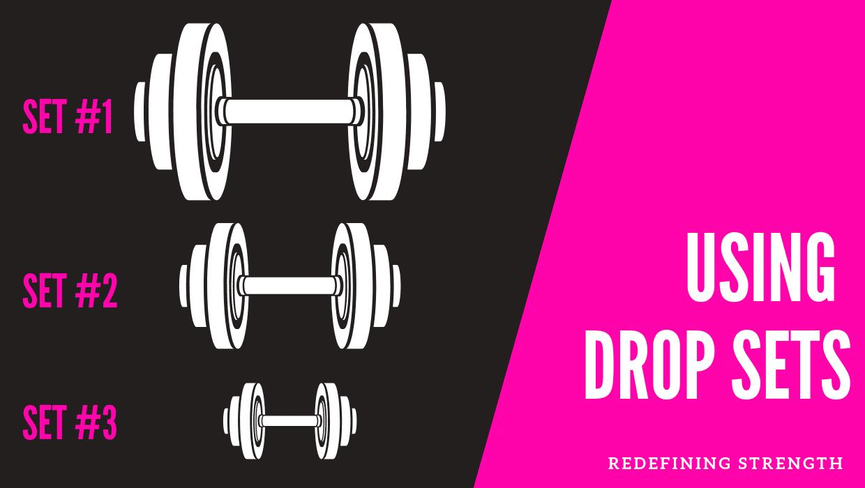 Tweak Your Workout Design With Drop Sets!